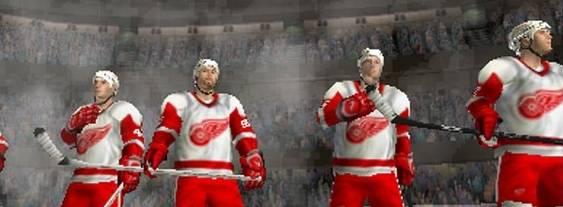 Immagine del gioco NHL Gretzky Hockey per Playstation PSP