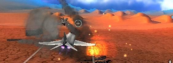 After Burner Black Falcon per Playstation PSP