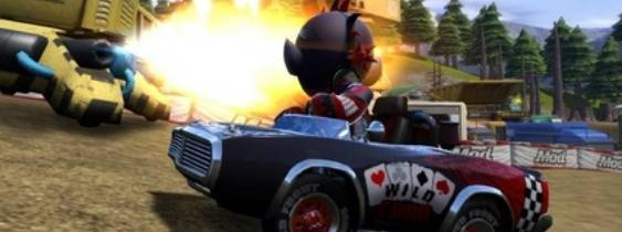 Immagine del gioco ModNation Racers   per Playstation PSP