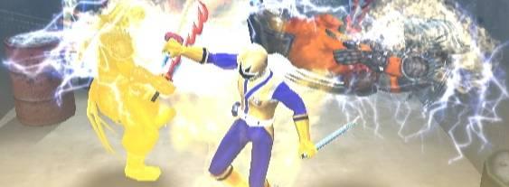 Power Rangers Samurai per Nintendo Wii