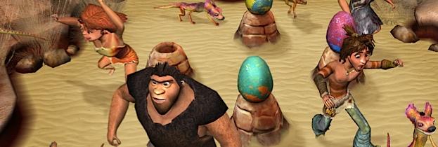 Immagine del gioco I Croods: Festa Preistorica per Nintendo Wii