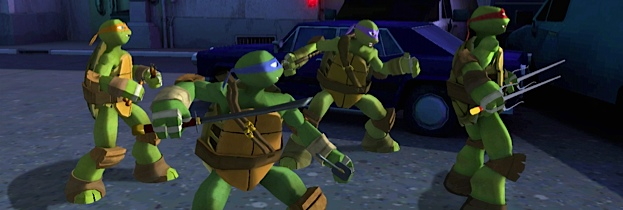 Nickelodeon: Teenage Mutant Ninja Turtles per Nintendo Wii