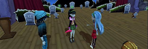 Immagine del gioco Monster High: Una nuova Mostramica a Scuola per Playstation 3