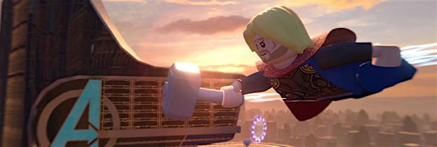Immagine del gioco LEGO Marvel's Avengers per Playstation 4