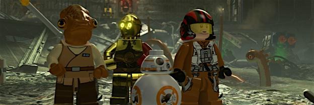 Immagine del gioco LEGO Star Wars: Il risveglio della Forza per PSVITA