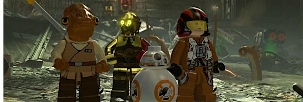 Immagine del gioco LEGO Star Wars: Il risveglio della Forza per Nintendo 3DS