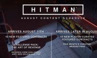 Hitman - Rivelati i contenuti dell'aggiornamento di agosto