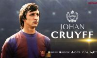 Johan Cruyff torna in campo su PES 2018