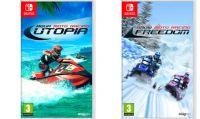 Snow e Aqua Moto Racing disponibili in Italia per Switch