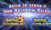 Sei pronto ad affrontare il team Rainbow Rocket in Pokémon Ultrasole e Ultraluna?