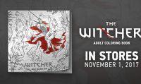 The Witcher avrà un libro da colorare per adulti