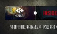Il rivenditore online GOG.com offre il bundle Little Nigtmares + INSIDE