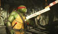 Cowabunga! Le Teenage Mutant Ninja Turtles entrano in azione nel nuovo trailer di Injustice 2