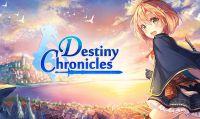 Vi presentiamo Destiny Chronicles, il nuovo JRPG che si ispira a Kingdom Hearts