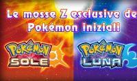 Pokèmon Sole e Luna - Mosse Z e valanga di nuove informazioni