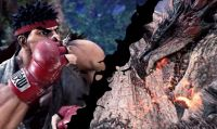 Monster Hunter: World - Arrivano Ryu e Sakura da Street Fighter V
