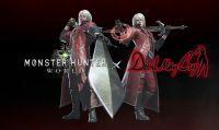 Monster Hunter World - Annunciato l'evento a tema Devil May Cry