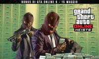 GTA Online - Fino al 15 maggio doppi XP e GTA$ con i Colpi