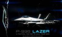 Il P-996 Lazer sfreccia nei cieli di GTA Online
