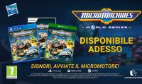 Accendete i Micro Motori: È arrivato Micro Machines World Series