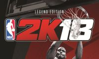 2K annuncia la Legend Edition di NBA 2K18