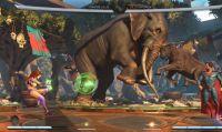 Injustice 2 - Nuovo video gameplay dedicato a Starfire, personaggio disponibile da oggi