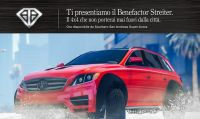 GTA Online - Benefactor Streiter, neve e regali in arrivo