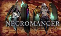 Necromancer e Rover sono pronti per la battaglia in Etrian Odyssey V: Beyond the Myth