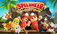 Spelunker Party! è ora disponibile su Nintendo Switch e Steam