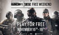 Ubisoft annuncia il Free Weekend di Tom Clancy's Rainbow Six Siege