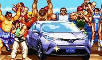 Toyota e Street Fighter insieme in uno spot geniale