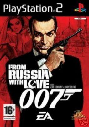 Copertina del gioco 007 Dalla Russia con Amore per Playstation 2