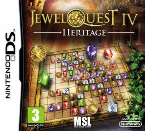 Copertina del gioco Jewel Quest IV: Heritage per Nintendo DS