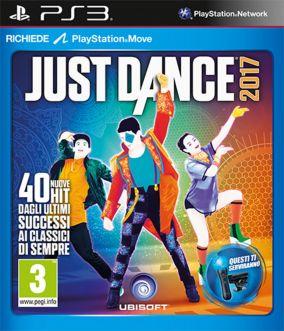 Immagine della copertina del gioco Just Dance 2017 per Playstation 3