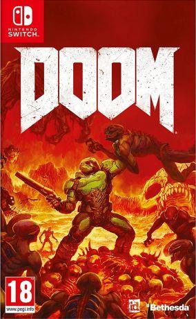 Copertina del gioco Doom per Nintendo Switch