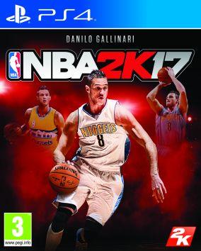 Copertina del gioco NBA 2K17 per Playstation 4