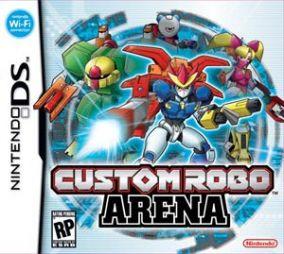 Immagine della copertina del gioco Custom Robo Arena per Nintendo DS