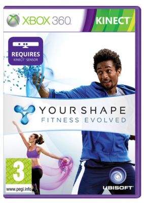 Copertina del gioco Your Shape: Fitness Evolved per Xbox 360