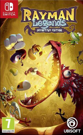 Copertina del gioco Rayman Legends Definitive Edition per Nintendo Switch