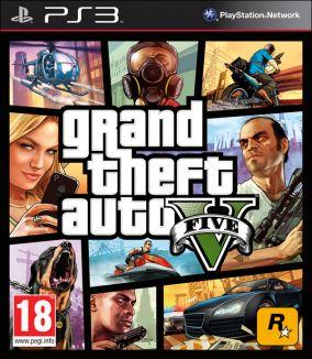 Immagine della copertina del gioco Grand Theft Auto V - GTA 5 per Playstation 3