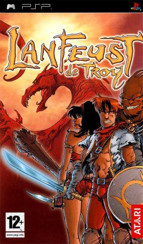 Copertina del gioco Lanfeust de Troy per Playstation PSP