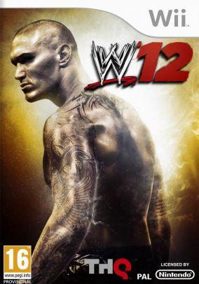 Immagine della copertina del gioco WWE 12 per Nintendo Wii