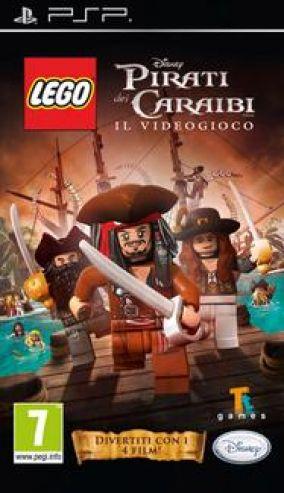 Copertina del gioco LEGO Pirati dei Caraibi per Playstation PSP