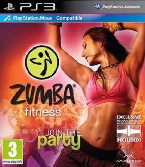 Copertina del gioco Zumba Fitness per Playstation 3