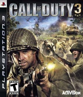 Immagine della copertina del gioco Call of Duty 3 per Playstation 3