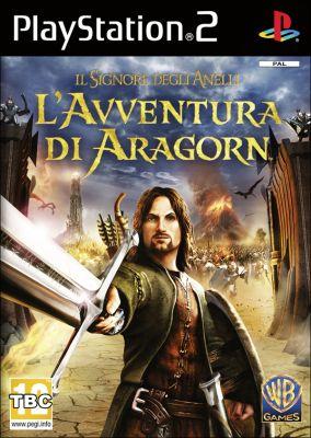 Immagine della copertina del gioco Il Signore degli Anelli: L'Avventura di Aragorn per Playstation 2