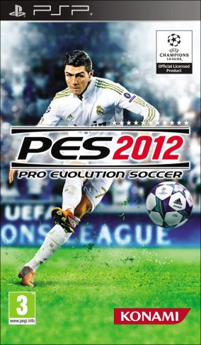 Immagine della copertina del gioco Pro Evolution Soccer 2012 per Playstation PSP