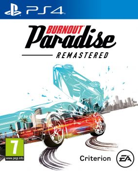 Copertina del gioco Burnout Paradise Remastered per Playstation 4