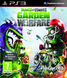 Copertina del gioco Plants Vs Zombies Garden Warfare per Playstation 3
