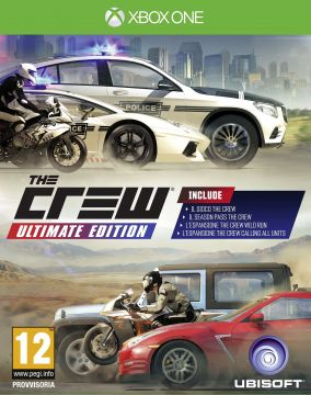 Immagine della copertina del gioco The Crew: Ultimate Edition per Xbox One